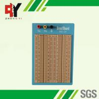 Buy cheap Brown Solderless Circuit Board , Circuit Bread Board With Blue Plate from wholesalers