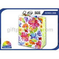 Buy cheap Reusable and Recycled Printed Wedding Paper Bag / Decorative Paper Gift Bags with Art Paper from wholesalers