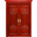 Buy cheap exterior high quality double/sigle swing teak wood main door, solid wood door from wholesalers
