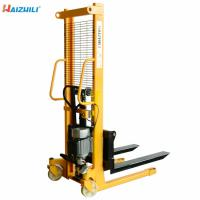 Buy cheap Mobile Hydraulic Hand Forklift , Walkie Pallet Stacker 500kgs To 2500kgs Capacity from wholesalers