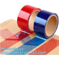 Buy cheap transfer high residue tamper evident security void tape,Anti Tamper Proof Evident Security Warranty Void Tape bagease from wholesalers