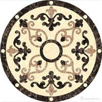 Buy cheap Marble Decorative Floor Tile Medallions , Multi Colored Waterjet Floor Medallions from wholesalers