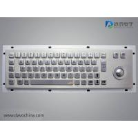 Buy cheap IP65 Military Keyboard & 38mm trackball D-8619 from wholesalers