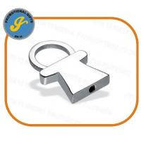 Buy cheap Metal Pull-apart Person Shape Keyring from wholesalers