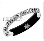 Buy cheap Stainless Steel Medical Alert Id Bracelet from wholesalers