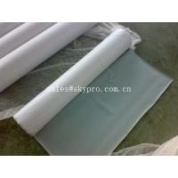 Food Grade Silicone Natural Rubber Sheet Roll Clear Sticky FDA 0.1 - 30mm Thickness Manufactures