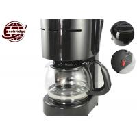 Buy cheap Black PP/Glass 600W/220-240VHousehold Coffee Makers Automatic Coffee Machine With 4-6 Cups from wholesalers