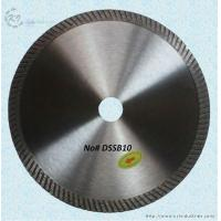Buy cheap Continuous Rim Diamond Turbo Blade - DSSB10 from wholesalers