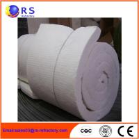 Buy cheap White Ceramic Insulation Blanket For Boiler / Refractory Ceramic Fire Blanket from wholesalers