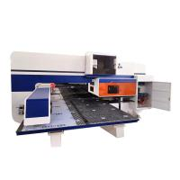 Buy cheap 400-600 Hpm Stainless Steel Aluminum Alloy Plate CNC Turret Punching Machine from wholesalers