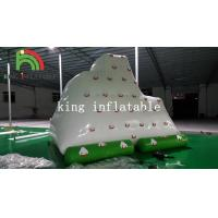 Buy cheap 4m x 3m Green / White Inflatable Water Toy / Mini PVC Iceberg For Water Park from wholesalers