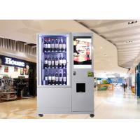 Buy cheap Bottles / Cans / Snacks Customed Mini Mart Vending Machine with Network LCD Advertising Display from wholesalers
