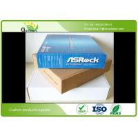 Buy cheap Folding Packing Cardboard Packaging Boxes For Express Garment Industry Customized from wholesalers