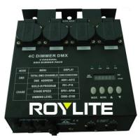 Buy cheap Professionnal DMX Dimmer Pack 4CH 5Pin 16A AC 220 - 240V , stage lighting dimmer packs from wholesalers