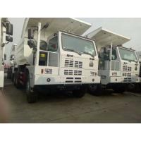 Buy cheap 6x4 50 Ton Mining Dump Truck With Single Sleeper Cab And Manual 10 Speeds Gear Box from wholesalers