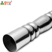 Buy cheap China Manufacturer 304 Stainless Steel Decorated Embossed Pipe Support Hollow Section from wholesalers