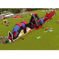 Buy cheap Outdoor Obstacle Course Game For Playground , Boot Camp Inflatable Obstacle Course from wholesalers