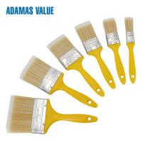 Buy cheap High quality paint flat brush plastic handle PET fibre bristles 32341 from wholesalers