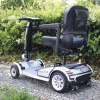 Buy cheap electric folding handicapped electric wheelchair from wholesalers