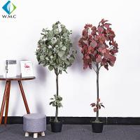 Wholesale Minimalist Style Artificial Bonsai Tree , Artificial Apple Tree For Living Room from china suppliers