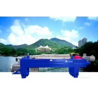 Buy cheap Waste Incineration 3 Phase Decanter Centrifuge Fly Ash Treatment Blue Or Green from wholesalers