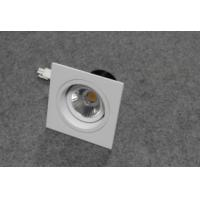 Buy cheap square recessed/embeded LED downlight 7w 10w 15w with cutout 75mm 230v from wholesalers