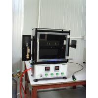 Buy cheap Vertical Combustion Testing Equipment , Stainless Steel Flame Test Chamber from wholesalers