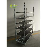 Buy cheap Garden Flower Cart Pot Plant Container Danish Trolley Hot Galvanized Surface Treatment from wholesalers