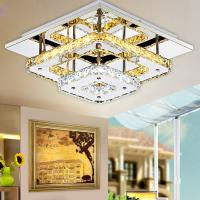 Modern Crystal LED Ceiling lights Fixture For Indoor Lamp lamparas de techo Surface Mounting Ceiling Lamp For Bedroom Manufactures
