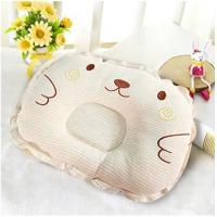 Buy cheap Toddler Safe Soft 3D Mesh Pillow Brown Embroidery For Anti - Roll Sleeping Cushion from wholesalers