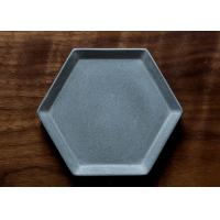 Buy cheap Silicone Cement Plate Molds Concrete Flower Pot Tray Moulds Handcrafted Molds from wholesalers