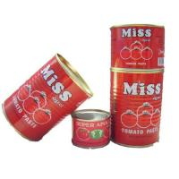 Buy cheap Canned tomato paste brix 28-30% from wholesalers