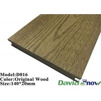 Buy cheap Outdoor Swimming Pool ECO Wood WPC Composite Decking Flooring product