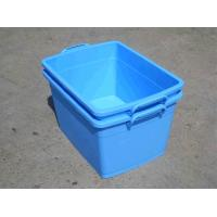China plastic food box no. 1, PP , 550*400*300mm, blue on sale