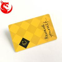 Buy cheap Gold Read Write Metal Wallet Card High Glossy Hot Stamping Or Magnetic Stripe from wholesalers
