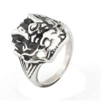 Buy cheap stainless steel gothic ring  from wholesalers