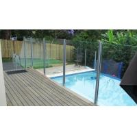 Buy cheap Royal Blue 12mm Pool Fencing Glass Door Curtain Wall Tempered Glass Panels from wholesalers