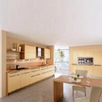 Buy cheap Laminated Kitchen Cabinet with PVC Coating (EM037) from wholesalers