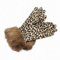 Buy cheap Gloves with Leopard Print from wholesalers
