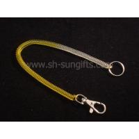 Wholesale Plastic spring key chains, Plastic spring mobile phone chains, promotional gift from china suppliers