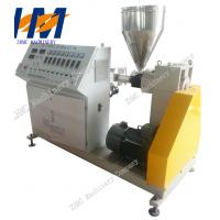 Buy cheap Plastic Conical Twin Screw Extruder PVC For Pipe Profile Sheet Extrusion from wholesalers