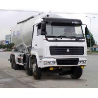 Buy cheap V Shape Bulk Cement Truck With 68m3 Volume CCC/ ISO/SGS Certification from wholesalers
