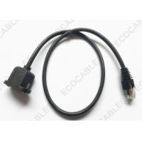 RJ45 Network Signal Cable, PVC Male To Female Extension Cable For Floor Care Machines Manufactures