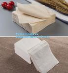 Buy cheap 1/4 Fold Coffee Bar Beverage Black Paper Napkin,Printing paper napkin/decorative paper dinner napkins, BAGPLASTICS,PAC from wholesalers