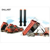 Buy cheap RoHS Dump Trailer Hydraulic Cylinder , Welded Hydraulic Cylinders Plunge Long Stroke from wholesalers