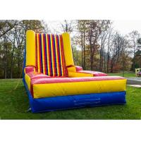 Wholesale velcro inflatable sticky jump walls bouncy castle from china suppliers