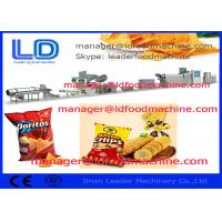 Tortilla Doritos Corn Chips Making Machine / Food Processing Equipment Manufactures