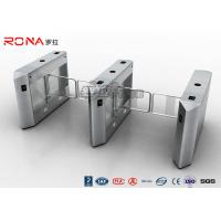 Buy cheap Security Access Control System Electric Swing Barrier Gate With  Biometric System from wholesalers