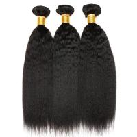 Buy cheap Natural Color 10 Inch 100 Indian Human Hair Weave For Lady Kinky Straight from wholesalers