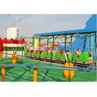 Buy cheap 9KW Power Amusement Park Roller Coaster 6 - 9km/H Speed 14 Person Crew from wholesalers